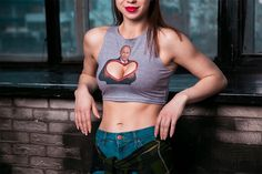 Russian women are being urged to emblazon Vladimir Putin on their chests in a new range of revealing patriotic shirts. With an election due next year, the designs are aimed at boosting support for the Kremlin strongman. The initiative is from a patriotic youth group called 'Project Set' (The Net Pro