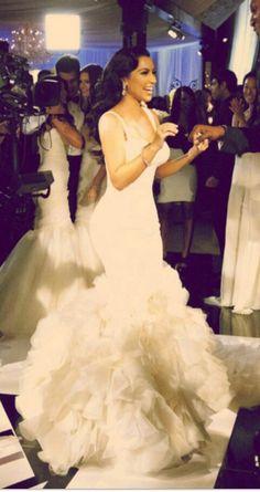One Of Kim's Wedding Dresses.