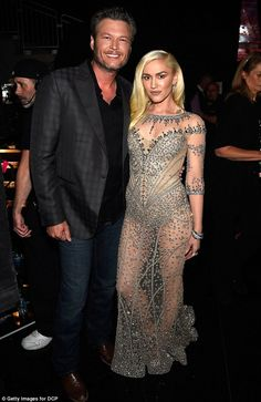 Moving on: Gwen was reportedly 'mortified, livid and embarrassed' when she learned of her husband's infidelity, according to Us Weekly. She is now happy with country star Blake Shelton