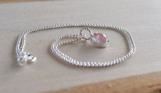 **SALE SALE SALE* 40% THE ENTIRE SHOP! Rose Quartz Pendant // Healing Crystal Jewelry // Layering Necklace - pinned by pin4etsy.com
