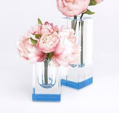 Fearless Vases by Alexandra Von Furstenberg. Designed from the finest grade acrylic, these beautiful, simple bud vases make it easy to add color to your room or flower arrangements. They look great in pairs, threes, or in all the colors. #vase #YVR #BC #Vancouver #Vancity #Home #Homedecor #interiordesign #design #Luxury #Elegant #quality #flowers #floral #deco #unique #alexandravonfurstenberg #avf #fluo #neon #colourful #colours
