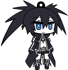 AmiAmi [Character & Hobby Shop] | Black Rock Shooter - Rubber Strap: Black Rock Shooter