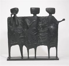 Kenneth Armitage, THE VISITORS, 1961