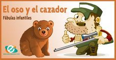 El oso y el cazador. Fábulas para niños #fabulas