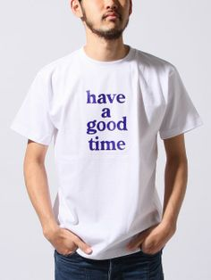 #BEAMS #Stylife have a good time / LOGO TEE