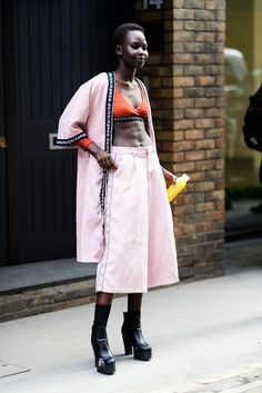 BG STREET STYLE/LFW FW18/Tyler Joe is bringing you the best style from across the pond.