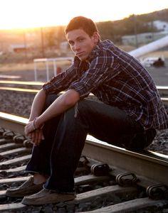 Sunset on the rail