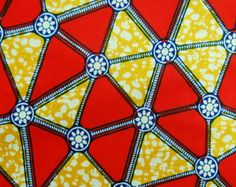 African fabric from kame79 on Etsy.