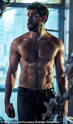 """John Krasinski, formerly of the Office, in the movie """"13 Hours"""" about Benghazi."""