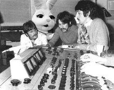 John, George, Paul ... and a rabbit