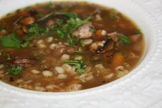 Prudence Pennywise: Vitameatavegamin-or Beef and Barley Soup in the Slow Cooker