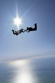 Skydiving... before the end of the summer... I can't wait!