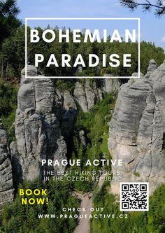 One day trip from Prague to Prachov rock city in Bohemian Paradise UNESCO Geopark. Best place to visit in Czech Republic. Hiking tour in Czech Republic Day Trips From Prague, 1 Day Trip, Night Couple, Hiking Tours, Travel Activities, Best Hikes, Europe Travel Tips, Day Tours