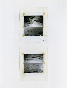 Gerhard Richter - Seascapes (Photo Collages), 1970, 66.7 x 51.7cm, pg 16 done