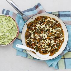 Lamb Meatballs with Mediterranean Sauce and Potato Broccoli Mash from myfoodbag