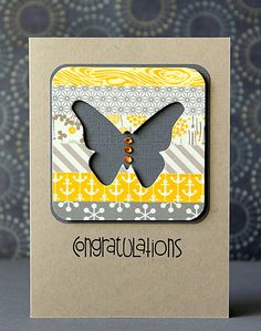 Beim verzweifelten Warten auf den Frühling habe ich mich mal ein wenig mit Schmetterlingen beschäftigt und ein paar Karten gemacht:      Die...