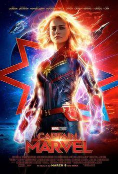 Captain Marvel Shazam, Carol Danvers Captain Marvel, Captain Marvel Costume, Marvel Cosplay, Poster Marvel, Marvel Movie Posters, Marvel Quotes, Marvel Memes, Marvel Logo