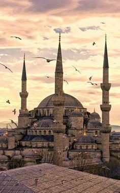 La Mezquita Azul, Estambul (Turquía)
