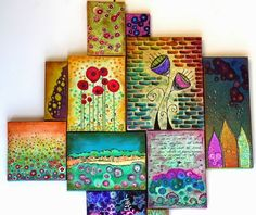 8 Superb Clever Tips: Interior Painting Design Ideas interior painting diy.Interior Painting White interior painting techniques how to make. Art Journal Pages, Pintura Graffiti, Art Du Collage, Art Diy, Ouvrages D'art, Mixed Media Canvas, Medium Art, Art Techniques, Altered Art