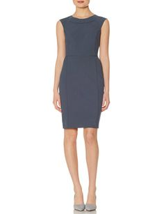 Collection Piped Sheath Dress from THELIMITED.com