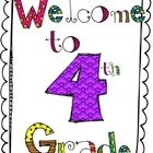 Fun and colorful activity packet for the first days of school!!     Activities include:  - Student Questionnaire   - Get to know your Teacher Page  - Ge...