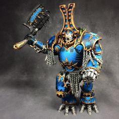 Warhammer 40k   Chaos Space Marines   Tzeentch Kytan Conversion #warhammer #40k…