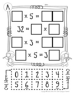 Awesome way to challenge and enrich students learning multiplication!