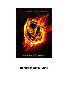This is a 60-90 minute lesson plan about the theme of hunger.  It ties nicely into a study of Suzanne Collins' novel, The Hunger Games, though with...
