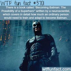 How to become Batman - WTF fun facts