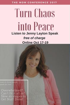 Cant fit it all in? New Strategies to Get Stuff Done! - Join me at the Mom Conference and you can hear Jenny Laytons Speech FREE of charge Online Interview, Entrepreneur Inspiration, Getting Things Done, Productivity, Conference, Join, How To Get, Advice, Free