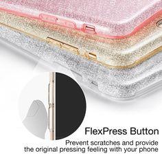 Cover Puro Booklet Crystal e New Bumper Frame per iPhone 6 Plus
