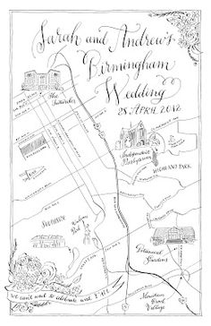 LOVE these maps drawn by holly