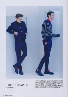 taylor gannon and damien by jiro konami for pen magazine no. 332 march 2013.