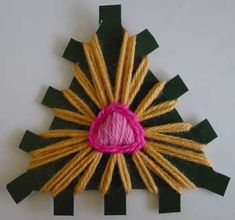 A triangle loom ♥LLK♥ with picture and written instructions and video