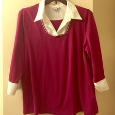 pretty top. 18/20 from The Avenue comfy top. goes great with jeans. size 18/20 Avenue Tops Blouses