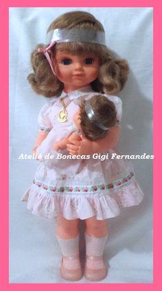Restauração da Boneca Mãezinha Estrela 1981