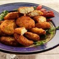 Eenvoudige Viskoekjes recept | Smulweb.nl Fish Recipes, Recipies, Fish Cookies, Fish And Seafood, Smoothies, Almond, Snacks, Ethnic Recipes, Desserts
