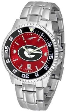 Georgia Bulldogs UGA Men's Stainless Steel Dress Watch SunTime. $86.95. Stainless Steel. Officially Licensed Georgia Bulldogs Men's Stainless Steel Dress Watch. Men. AnoChrome Dial Enhances Team Logo And Overall Look. Links Make Watch Adjustable