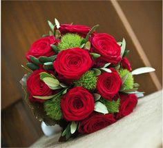 bouquet de mariée rouge - Recherche Google
