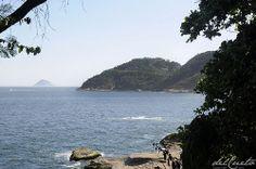 Forte Duque de Caxias, no alto do Morro do Leme, visto da base do Pão de Açúcar http://delcueto.wordpress.com