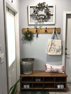 This is our updated entry way or entryway refresh.