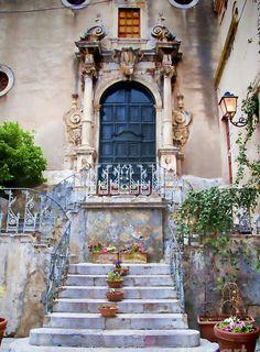 "tryagaindairy: "" Taormina Italy By fineartamerica """