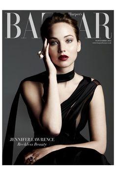 Jennifer Lawrence for Harper's Bazar