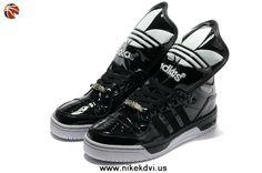 promo code c9cfe 3aeb3 Buy Girl Adidas X Jeremy Scott Big Tongue Shoes Black Polyvore, Sport Nike,  Nike