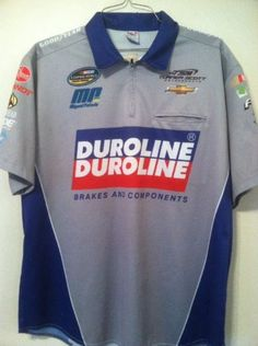 Duroline Miguel Paludo Turner Motorsports Race Used Pit Crew Shirt! Team Issued