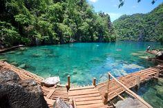 Kayangan Lake Coron Islands Palawan, Philippines...I loved this place