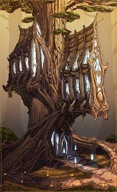 elven architecture - Google Search
