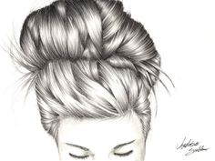 My first attempt at drawing hair. I think it went pretty well? - Imgur