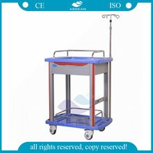 AG-LPT006B medical supply !Hospital ABS durable laboratory cart