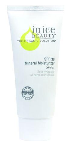 SPF 30 Mineral Moisturizer Sheer